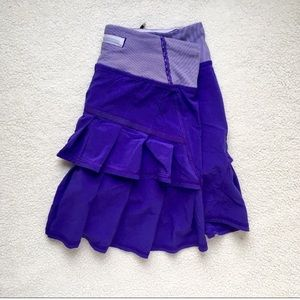 Lululemon Athletica Pacesetter Ruffle Skirt 2Tall